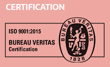 Logo de certification ISO 9001:2015