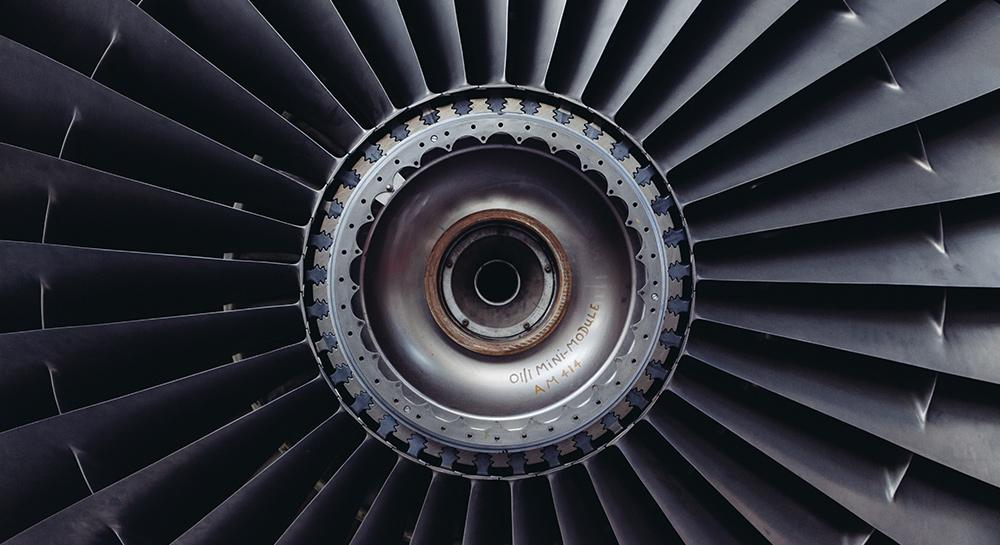 Pièce de réacteur de l'industrie aéronautique